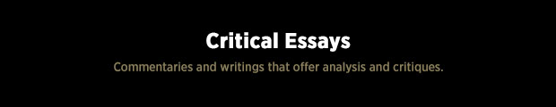 IBW Black Paper - Critical Essays