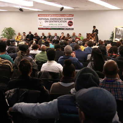 National Emergency Summit on Gentrification, hosted by Mayor Ras J. Baraka