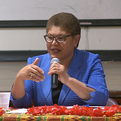 ongresswoman Karen Bass