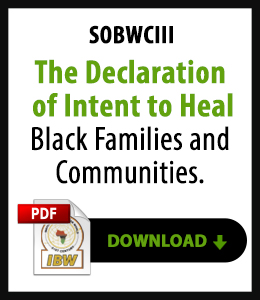 Declaration of Intent to Heal Black Families and Communities