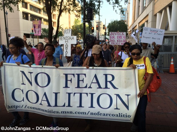 No-FEAR-protest-at-DOJ-e1409331161913