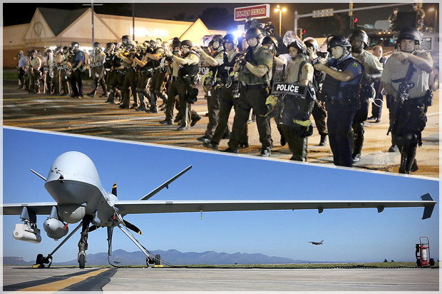 Killer cops, drone wars and the crisis of democracy