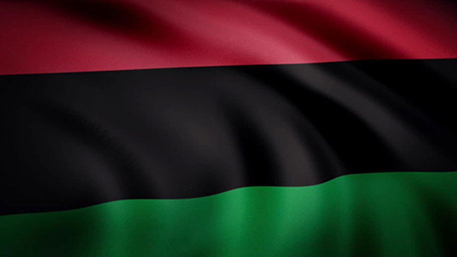 The Red, Black and Green Universal African Flag