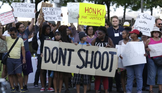 Michael Brown Don't Shoot Protest