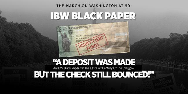 IBW Black Paper