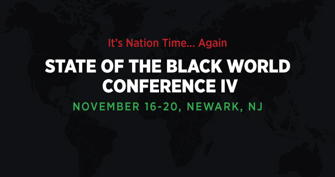 IBW State of the Black World Conference IV - Nov. 16 - 20, 2016