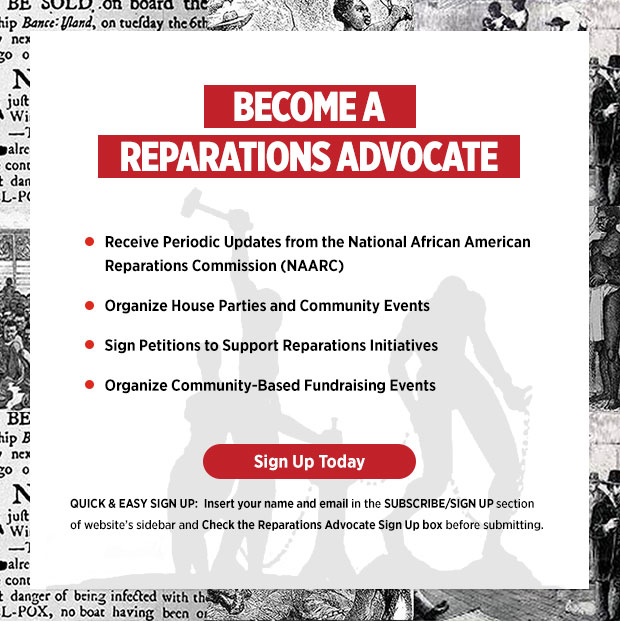 Become a Reparations Advocate