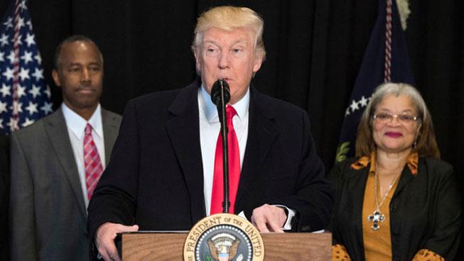 Trump Makes Weird, Tone-Deaf Speech at African-American Museum