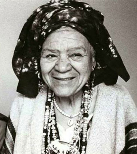 Audley Moore, better known as Queen Mother Moore