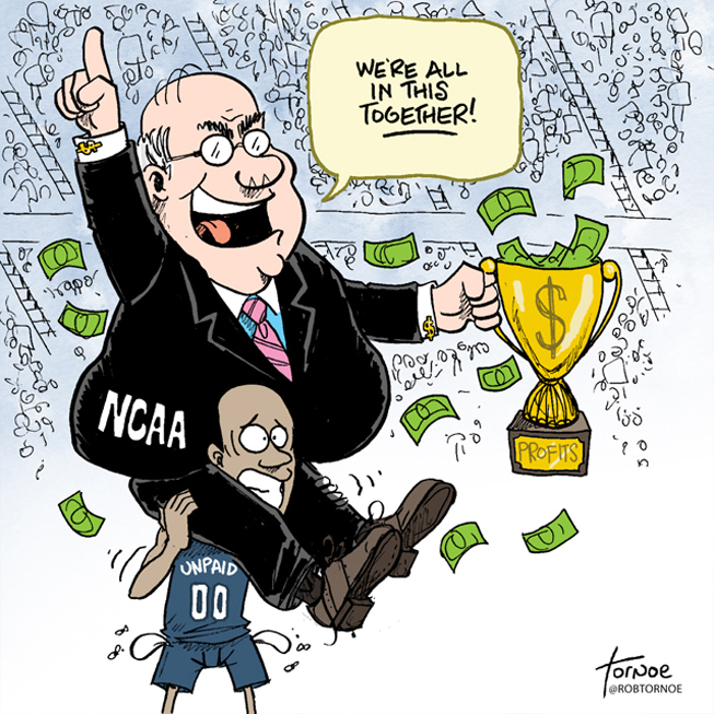 Just a Reminder: The NCAA Is a Plantation, and the Players Are the Sharecroppers