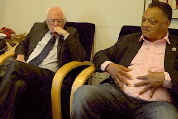 Greg Palast, Sen. Bernie Sanders and Rev. Jesse Jackson discuss Crosscheck