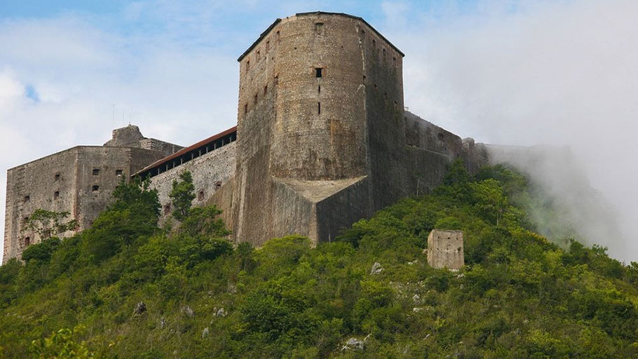 La Citadel Laferrière, the iconic figure of Haitian ingenuity and revolutionary courage.