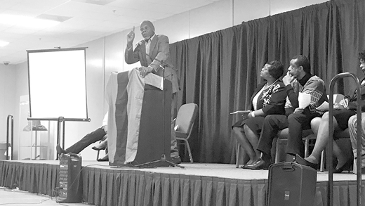 Actor Danny Glover advocates for reparations at N.O. benefit