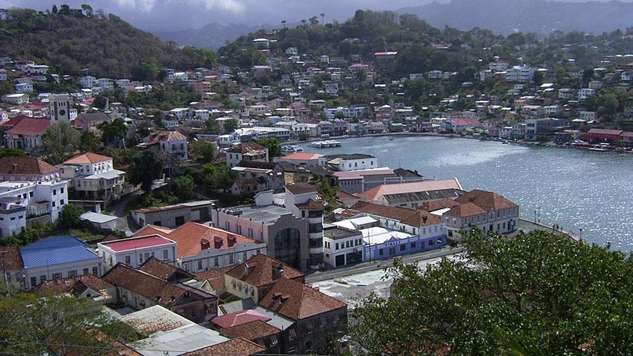 Grenada's capital, St George's