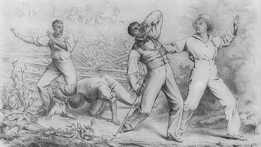 Fugitive Slaves Recaptured: 1850