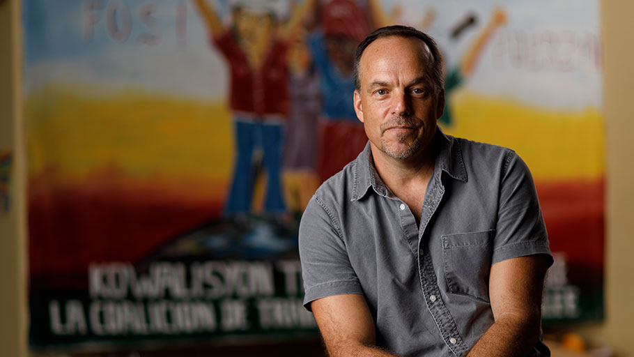 Greg Asbed — Cofounder of the farmworker-driven human rights and economic justice group the Coalition of Immokalee Workers