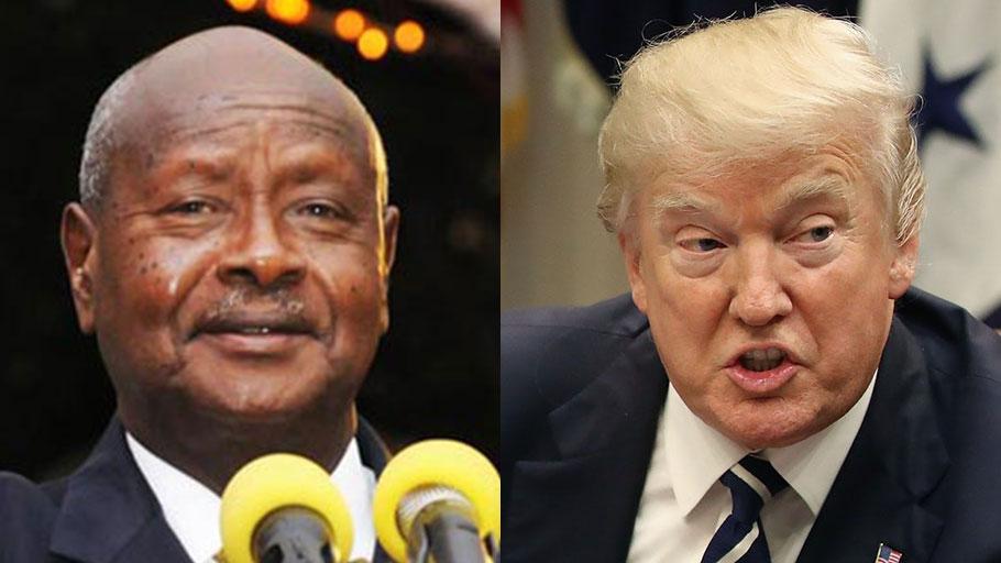 Gen. Museveni and Donald Trump