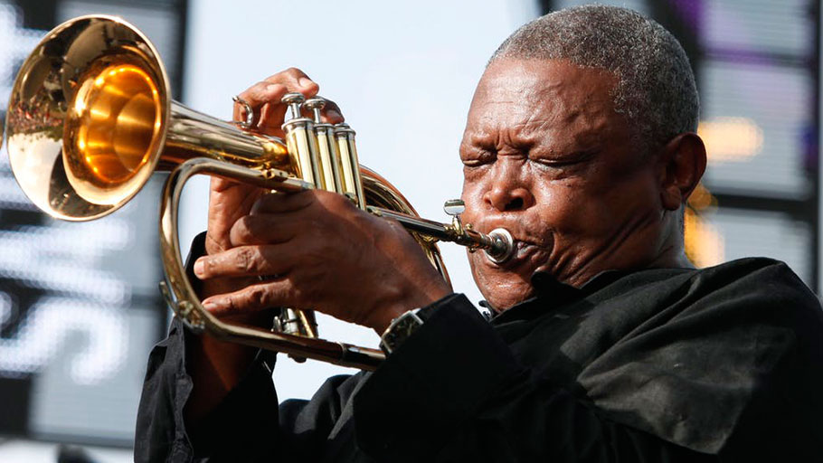 Legendary South African Trumpeter Hugh Masekela