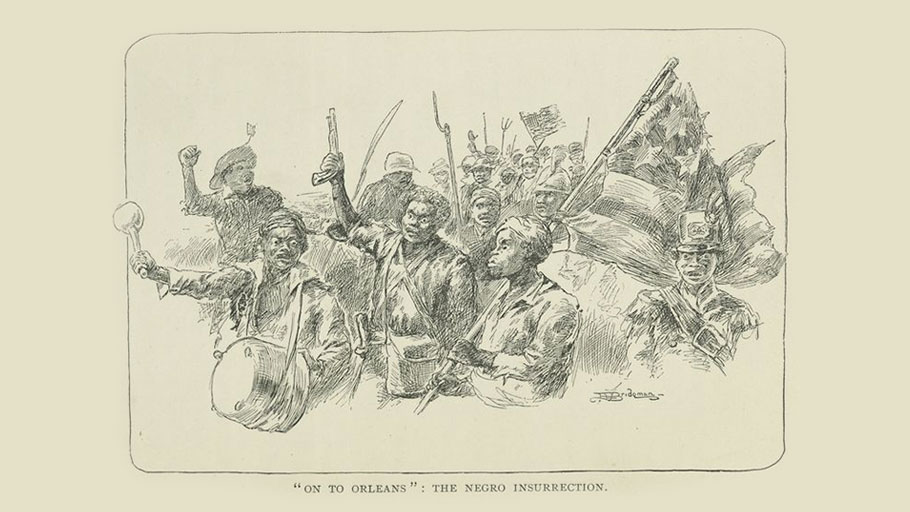 """On to Orleans"": The Negro Insurrection"
