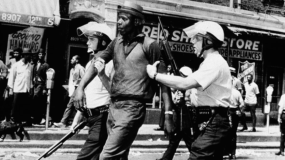 The Kerner Commission was formed amid riots in Detroit in 1967