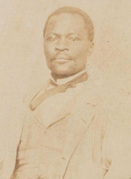 James Collins Johnson, a former fugitive slave, circa 1860. Photo: Class of 1860: Charles E. Green, box 23, Historical Photograph Collection, Princeton University Library