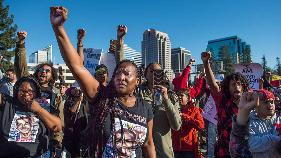 Sacramento Is Seething Over the Police Killing of Stephon Clark