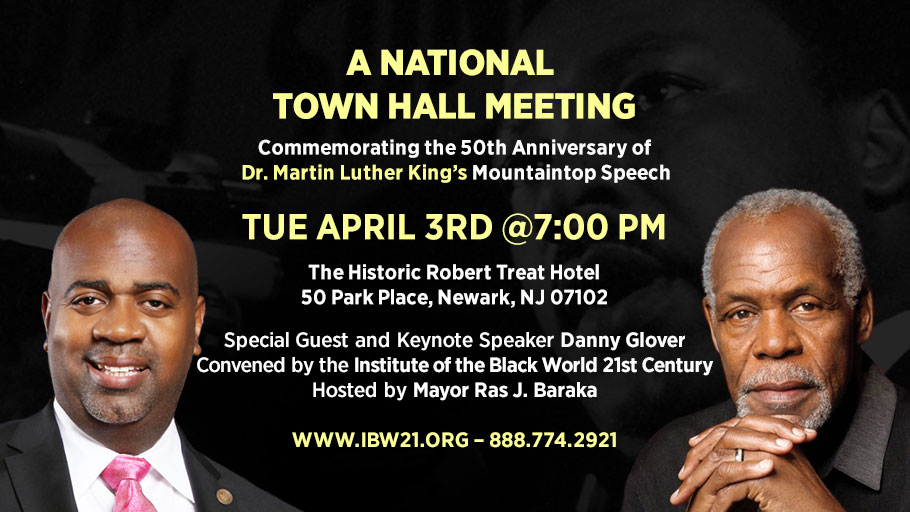 A National Town Hall Meeting Commemorating the 50th Anniversary of Dr. Martin Luther King's Mountaintop Speech