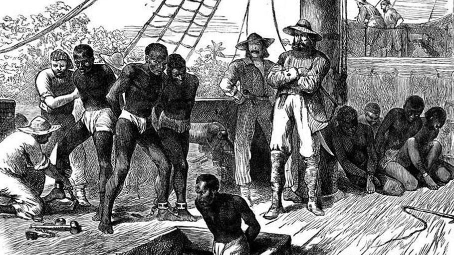 Slave on slave ships