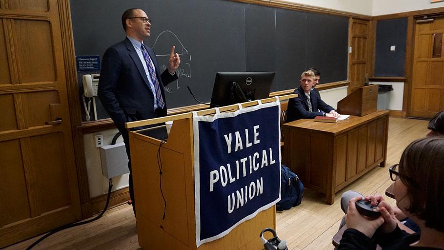 Yale College Jonathan Holloway