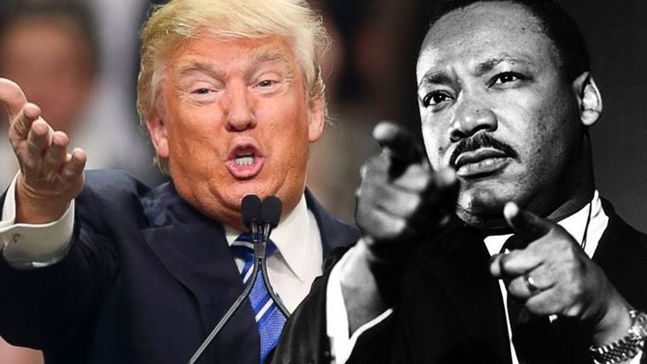 Trump, Martin Luther King Jr
