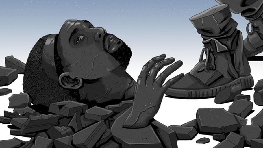 I'm Not Black, I'm Kanye — Article by Ta-Nehisi Coates, Image by Glenn Harvey