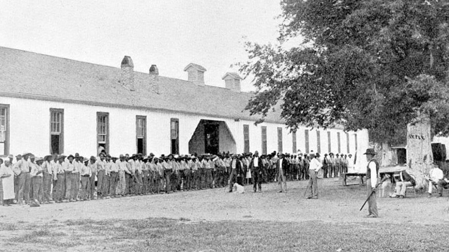 Angola Prison in 1901. New Orleans, Louisiana