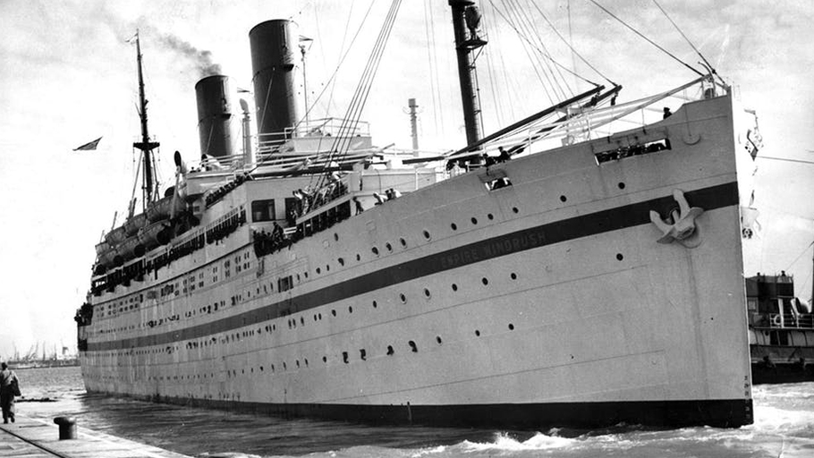 The Empire Windrush, photographed a few years after its famous journey from Jamaica to Tilbury Docks. PA Archive