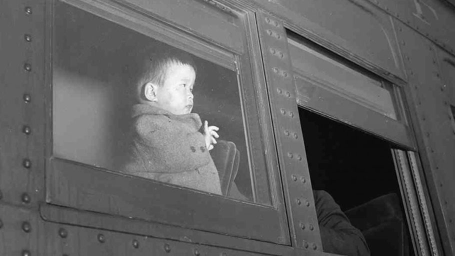 """When we sent Japanese Americans to internment camps, families were often separated when fathers were sent hasty relocation orders and forced labor contracts."" (Photo: Clem Albers/ US National and Records Administration)"