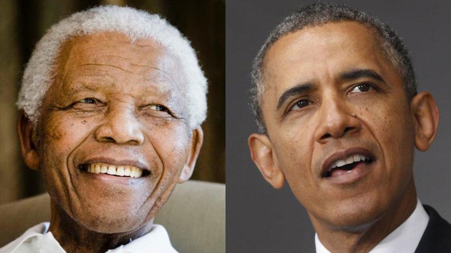Nelson Mandela, Barack Obama