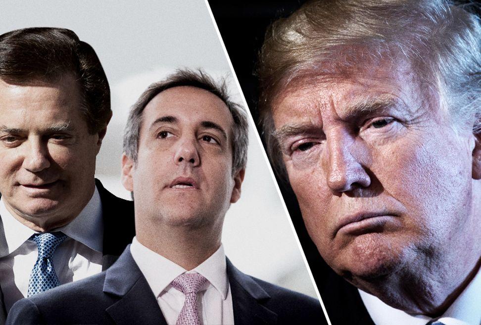 Paul Manafort; Michael Cohen; Donald Trump