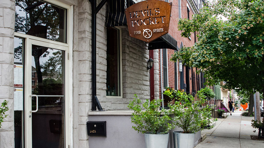 Devil'ss Pocket Food and Spirits uses one of the popular niche names.