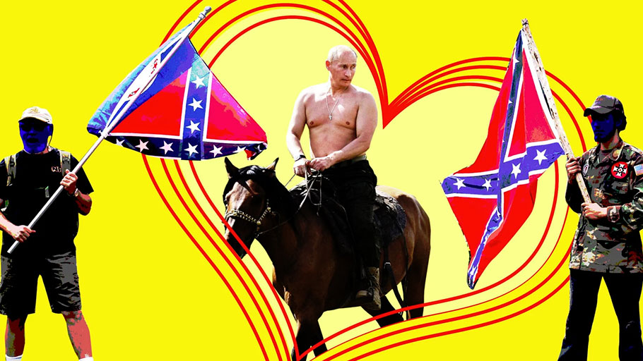 Howdy, Comrade - To Russia With Love: Why Southern U.S. Extremists Are Mad About Vladimir Putin