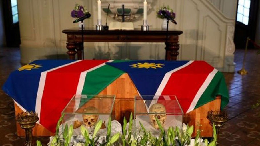 Germany returns remains from 1904-1908 genocide to Namibia.