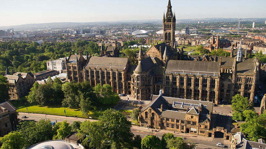 The University of Glasgow has examined the historical slave-holding record of benefactors. Photograph: University of Glasgow