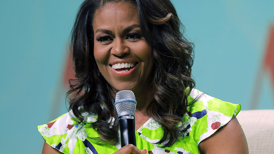 Michelle Obama, seen in New Orleans in June.