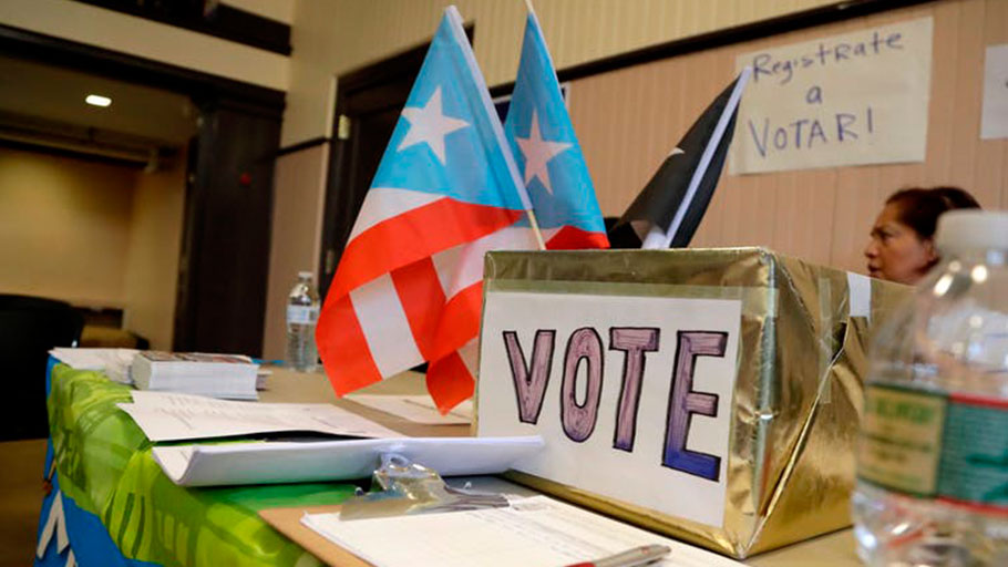 Puerto Ricans who fled the island for the U.S. mainland after Maria are eligible for the first time to vote in congressional elections.