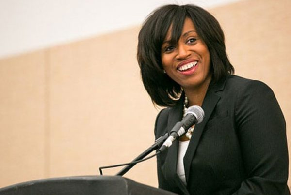 """""""Ayanna Pressley (January 10, 2014–Boston Convention and Exhibition Center)"""