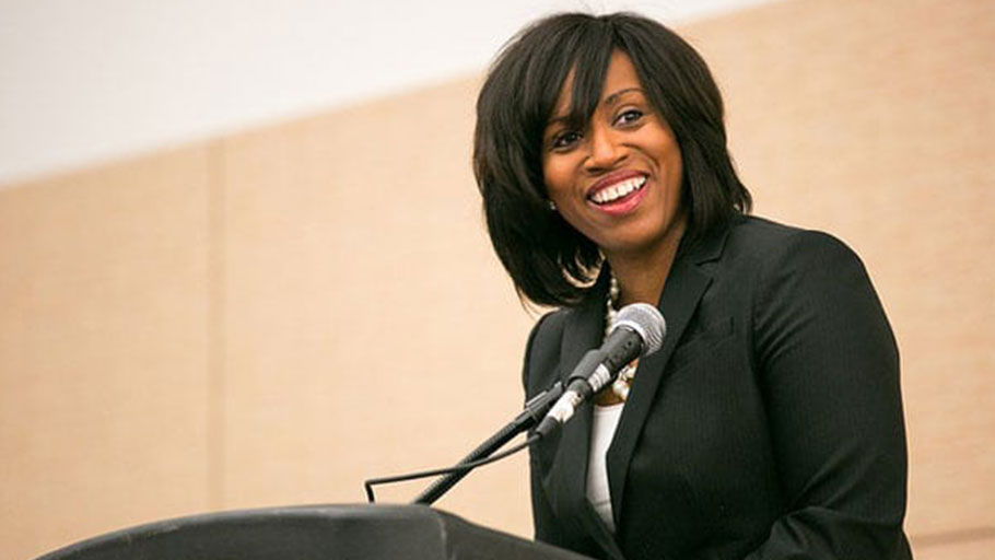 """Ayanna Pressley (January 10, 2014–Boston Convention and Exhibition Center)"