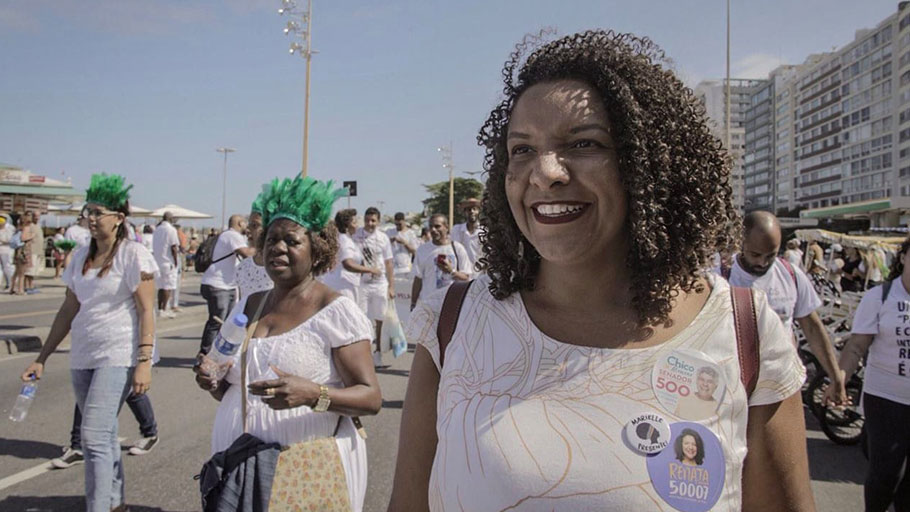 Renata Souza, who is running for a seat in the state legislature.