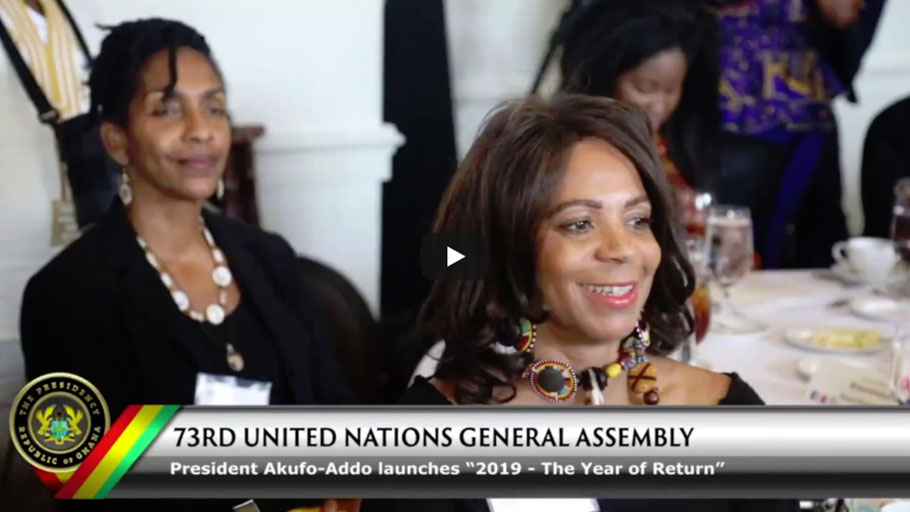 Ghana Offers African-Americans & Caribbean people the Right
