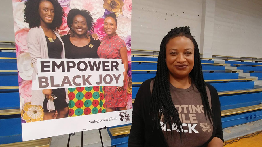Arisha Hatch, the managing director of campaigns for Color of Change, says black voters were uninspired by Hillary Clinton in 2016