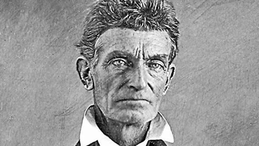 John Brown: he fought for slaves' freedom