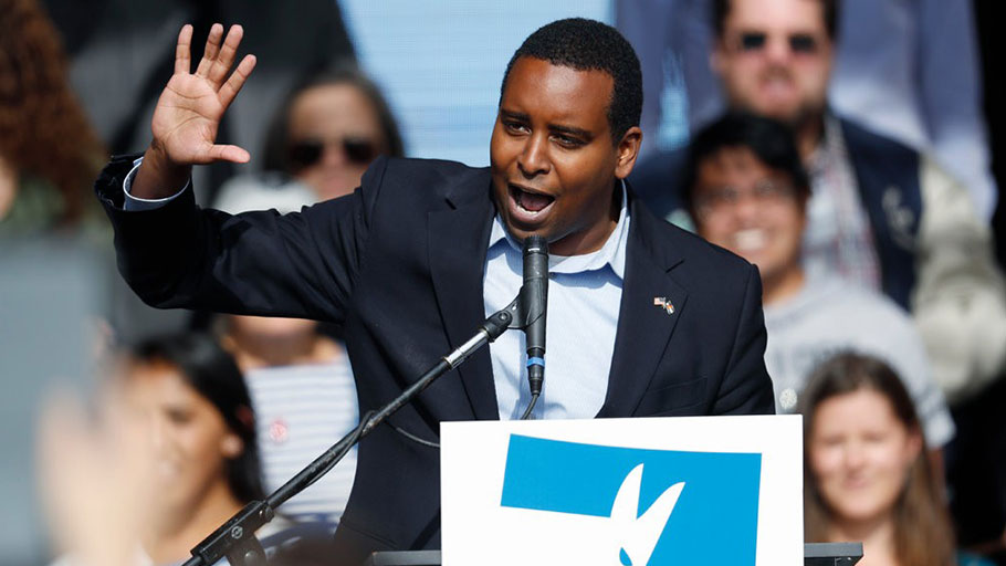 Joe Neguse, a Democrat, became Colorado's first black congressman this week.
