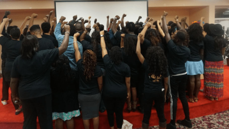In 2016, 65 black and undocumented immigrants met in Miami to build and connect with each other. The first of its kind, this convening resulted in the establishment of the UndocuBlack Network, whose goal is to advocate for and amplify the stories of undocumented black immigrants in the U.S.